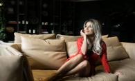 "Nata Colesnic: ""Acel moment cand Craciunul te inspira!"". Vezi cum a fost surprinsa tanara intr-un hotel din capitala - FOTO"