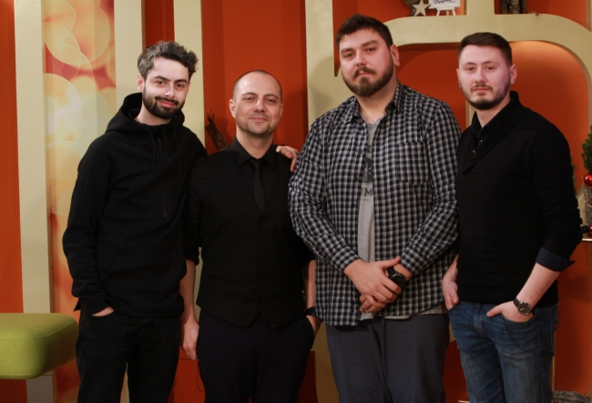 """""""Abia asteptam sa demonstram basarabenilor ca suntem mai buni!"""" Unii dintre cei mai celebri stand-uperi ai umorului din Romania, au venit in premiera la Chisinau - VIDEO"""