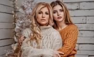 Victoria si Valeria Lungu seamana leit si arata de parca ar fi surori. Vezi poza ce a starnit controverse - FOTO