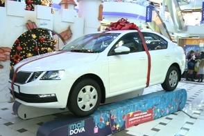 In perioada sarbatorilor de iarna, Shopping MallDova a organizat o tombola, iar premiul mare a fost un automobil - VIDEO