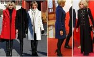 Brigitte Macron, vizita oficiala in Beijing. Iata 4 paltoane stylish, purtate de Prima Doamna a Frantei - FOTO