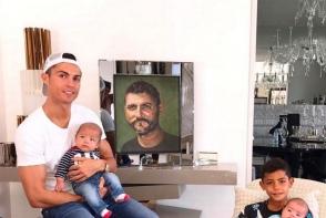 Cristiano Ronaldo traieste intr-o locuinta luxoasa. Copiii lui au caminul perfect - FOTO