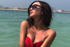 Olga Buzova, intr-un costum de baie provocator. Vezi cat de sexy s-a lasat pozata - FOTO