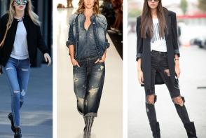 Blugi la moda in primavara-vara 2018. Iata care sunt modelele in tendinte - FOTO