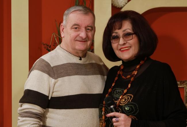 """Olga Ciolacu, despre sotul ei, Valentin Batrinac: """"Cand e suparat pe mine, imi spune Ciolacu, dar in rest Lica, si puiul..."""" Afla detalii curioase din spatele unui cuplu exemplu - VIDEO"""