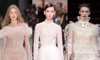 Esti mireasa in acest an? Vezi cele mai spectaculoase rochii couture, prezentate la Paris - FOTO