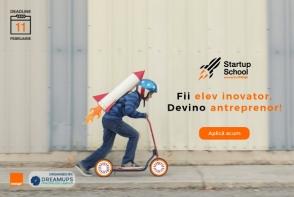 Startup School, powered by Orange. Primul program de educatie antreprenoriala pentru elevi din Republica Moldova