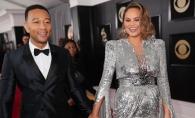 John Legend si Chrissy Teigen au facut furori la Premiile Grammy 2018. Vezi care au fost cele mai HOT cupluri de la evenimentul muzical - FOTO
