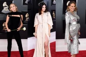 Vedetele au stralucit pe covorul rosu la Premiile Grammy. Iata cum s-au imbracat la cel mai tare eveniment muzical - FOTO