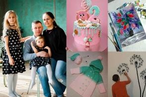Perioada maternitatii a venit la pachet cu multa inspiratie. Diana Cebotari este o mamica de la noi care se pricepe la toate - FOTO