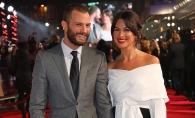 """Jamie Dornan a destainuit ca sotia sa nu s-a uitat la niciun film """"Fifty Shades"""". Iata cat e de sexy partenera din viata reala - VIDEO"""