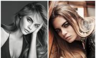 Cara Macovei e sosia de Moldova a modelului Cara Delevigne. Vezi cat de rebela e si cat de mult seamana cu idolul sau - FOTO