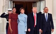 Michelle Obama a dezvaluit ce cadou a primit de la Melania Trump in Ziua Inaugurarii. Aceasta din urma a incalcat grav protocolul - FOTO