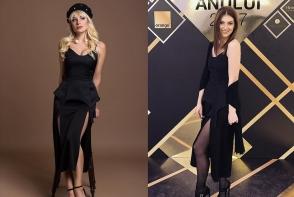 Natalia Gordienko si Irina Negara, in acelasi model sexy de rochie. Cui ii sta mai bine - FOTO