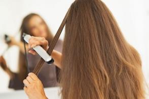 Asa se intinde corect parul cu placa. 10 sfaturi care le ajuta pe femei sa obtina coafura perfecta - FOTO