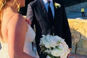 O actrita celebra s-a casatorit dupa doar 3 luni de relatie. Cat de frumoasa a fost in rochie de mireasa - FOTO
