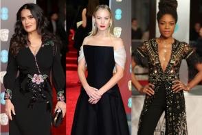 Cele mai inspirate aparitii la BAFTA AWARDS 2018! Rochia neagra a fost tinuta serii - GALERIE FOTO