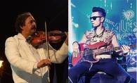 Nicolae Botgros si Alex Calancea Band au facut show la finala Eurovision Romania. Uite cum s-a impletit sunetul de vioara cu cel de bass - VIDEO