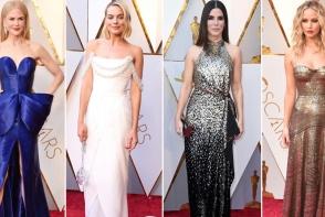 Best dressed la Oscar 2018. Vezi care sunt vedetele care au avut cele mai spectaculoase tinute pe covorul rosu - FOTO