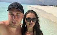 Tany Vander si iubitul sau, dezgoliti pe o plaja din Maldive. Iata cum se distreaza cei doi indragostiti - FOTO