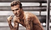 David Beckham, flirt cu unul dintre cele mai dorite modele.  Tanara  seamana leit cu sotia sa - FOTO