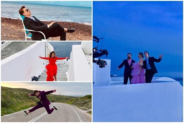 Trupa DoReDos a plecat in Grecia! Piesa care ne va reprezenta tara la Eurovision, va avea un videoclip filmat pe taramul elen - VIDEO
