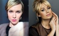 O coincidenta interesanta: Natalia Gordienko si Olia Tira, cu look-uri asemanatoare! Cui ii sta mai bine - FOTO