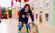 Filip Kirkorov a renovat vila sa de lux din Moscova. Copiii acestuia au parte de un propriu mini Disneyland si un teatru chiar in locuinta - FOTO