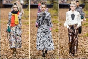 Chanel a prezentat noua colectie de Toamna 2018 in padure - FOTO