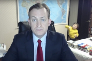 Ce s-a intamplat cu celebrul profesor caruia i-au intrat copiii in camera cand era in direct pe BBC