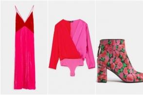 Roz & rosu, piese stylish pentru cel mai chic mix al primaverii. Adauga o pata de culoare in tinuta ta - FOTO