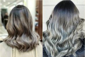 Cel mai nou trend in hairstyle: parul grey ombre. Iata ce trebuie sa stii despre aceasta tendinta - FOTO