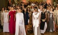 Vezi cum a fost la seara de moda dedicata lui Constantin Brancusi. Tinutele tematice au fost create de catre 16 designeri - VIDEO