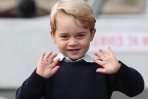 Afla ce vrea Printul George sa se faca cand o sa fie mare. Nu vrea sa fie rege - FOTO