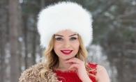Kornelia Stefanet a evadat intr-o poveste de iarna. Iata de ce sedinta foto spectaculoasa a avut parte artista - GALERIE FOTO