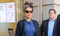 Eva Mendes, aparitie extravaganta pe strazile din New York. Cum a fost surprinsa actrita - FOTO