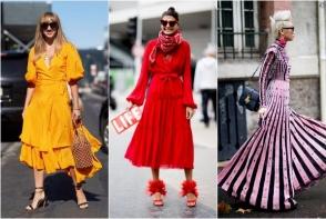 Care este rochia cea mai moderna, care ne avantajeaza si care ne transforma in adevarate dive? Iata ce se poarta in 2018 - FOTO