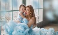 """Tatiana Heghea: """"Doar asa cream amintiri memorabile copiilor nostri, daruindu-le dragostea si timpul nostru!"""". Imagini adorabile cu Regina-Raluca - VIDEO"""