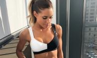 O antrenoare de fitness a demonstrat ca kilogramele pot fi inselatoare atunci cand iti doresti un corp senzational. Cu o simpla imagine a spulberat un mit - FOTO
