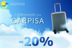 Pregateste-ti valiza pentru vacanta, impreuna cu CARPISA, in cadrul Expozitiei Tourism. Leisure. Hotels - FOTO