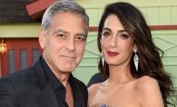 Amal Clooney s-a intors la munca si arata super sexy. Mama moderna nu a stat mult timp in concediul postnatal - FOTO
