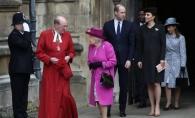 Vezi cum a petrecut familia regala britanica Pastele.  Printul Harry si Meghan Markle au lipsit, iar prezenta Ducesei de Cambridge a fost surprinzatoare - FOTO