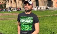 Unul dintre cei mai ravniti burlaci de la noi, Igor Sirbu, impresionat la maxim de orasul Roma. Ce ghidusii face interpretul in Italia - FOTO