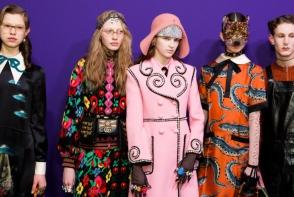 Descopera colectia Gucci primavara-vara 2018! Tinute extravagante si pline de culoare - FOTO