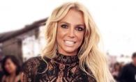 Britney Spears, intr-o rochie extrem de scurta si mulata. Vedeta abia se misca - FOTO