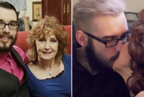 El este tanarul care s-a casatorit cu o femeie de 72 de ani, la varsta de 19 ani. ¨A fost dragoste la prima vedere¨