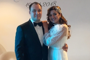 Ia-ti mireasa ziua buna! Cristy Rouge a avut o nunta ca-n povesti! Vezi primele imagini de la eveniment - FOTO