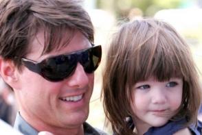 Este o adevarata domnisoara! Fiica lui Tom Cruise a implinit 12 ani - FOTO
