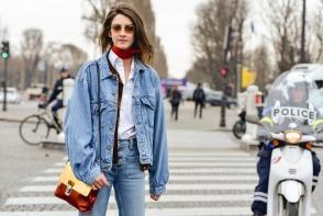 10 feluri in care sa porti jacheta din denim. Conteaza foarte mult cum o stilizezi si cu ce o combini - GALERIE FOTO