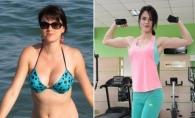 Lilly Tonu te motiveaza sa faci sport si acasa. Tanara vine cu un set de exercitii pentru incepatori - VIDEO